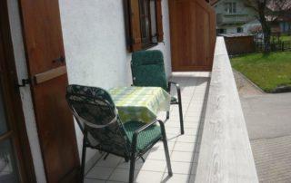 Balkon Ferienwohnung Hamberger Hof