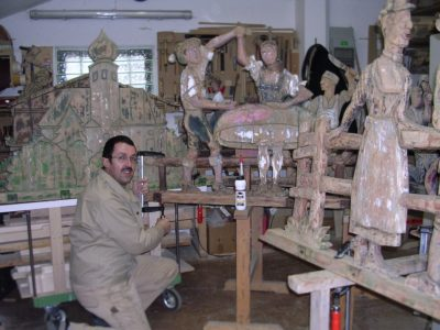 Handwerk Maibaumfiguren