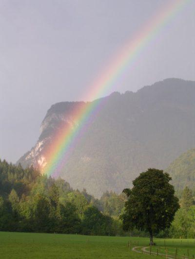 Regenbogen Sachrang
