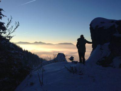 Schneewanderung Sachrang